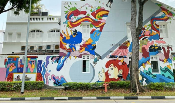 Kampong Kelam, the charming old town of Singapore